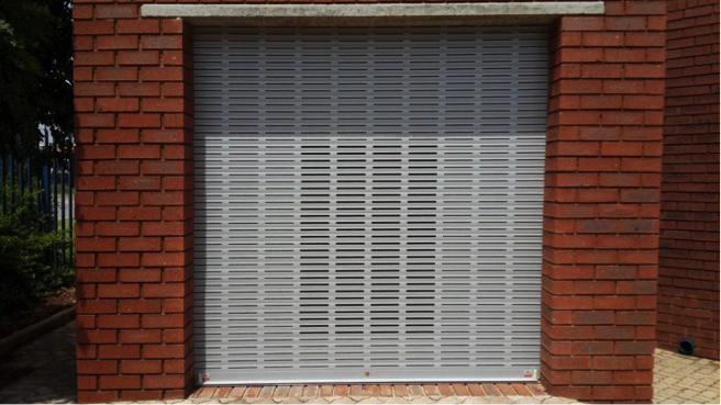 Customized security Armadillo Roller Shutter - Garage Door
