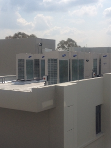 Lakeview Maternity Hospital wing: climate control via Samsung DVM